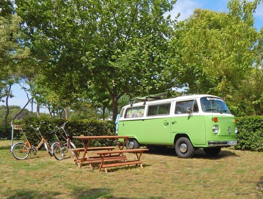 Tre attività per le tue vacanze sostenibili - camping